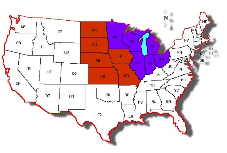 an introduction to the region of the american west Middle west: middle west,, region, northern and central united states, lying midway between the appalachian and rocky mountains and north of the ohio river and the.